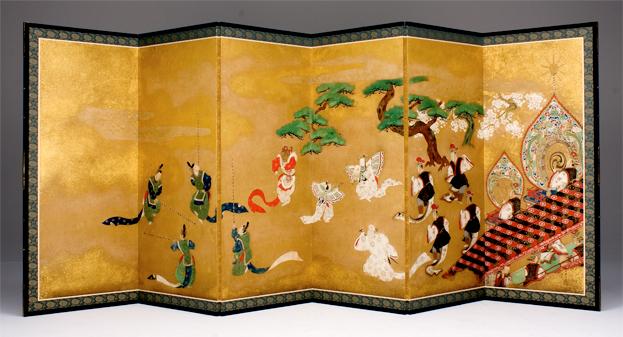 Hiroto Rakusho, Bugaku Dancers