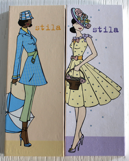Stila Look of the Month palettes - March and April