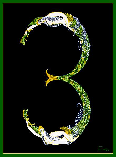 Erté - Number 3