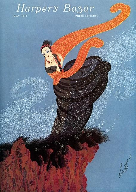 Erté - Harper's Bazaar cover, May 1919
