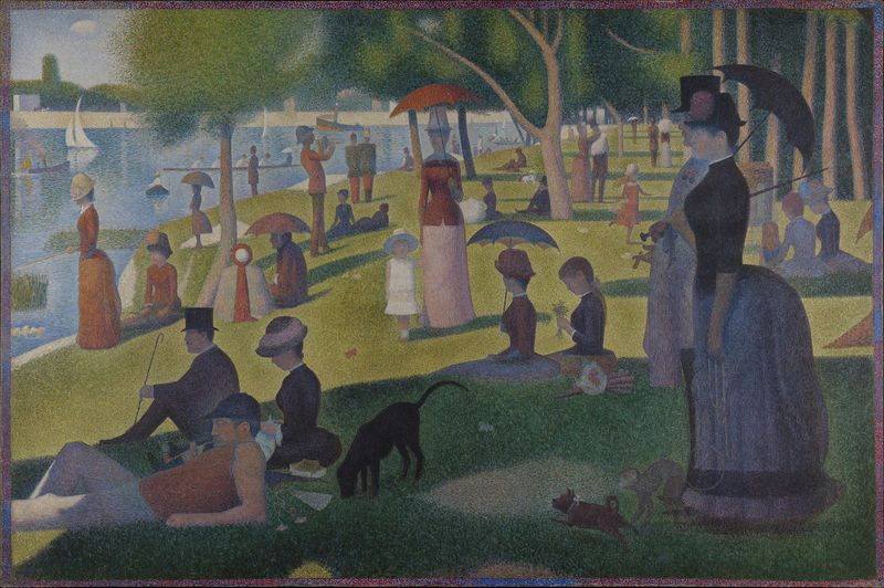 Georges Seurat, A Sunday Afternoon on La Grande Jatte, 1884