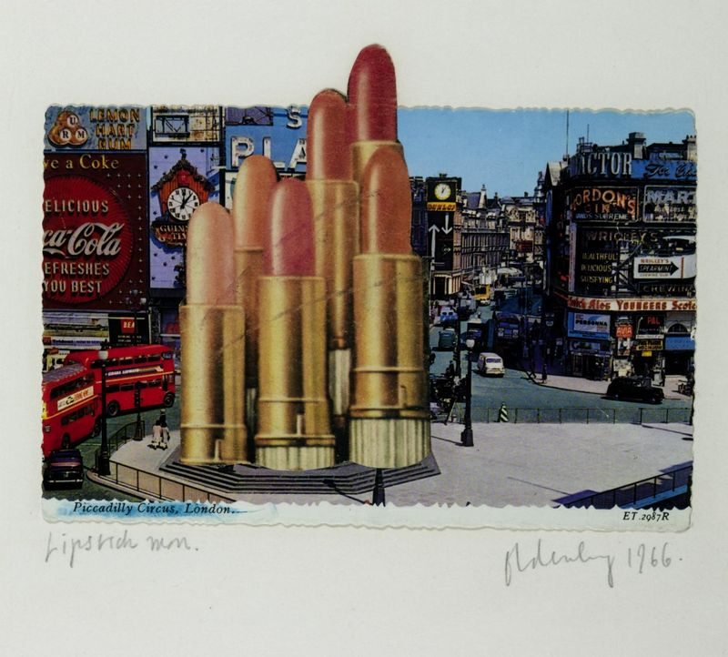 Claes Oldenburg - Lipsticks in Piccadilly Circus, London