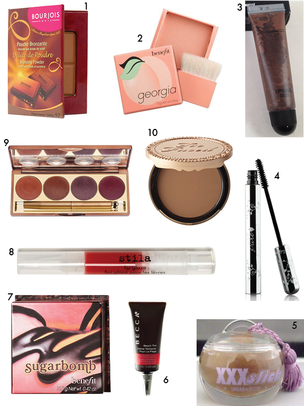 Food-scented makeup, '90s and early aughts