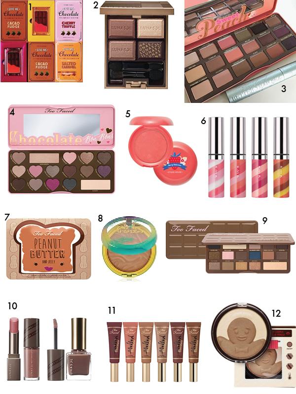 Foody makeup 2015-2016