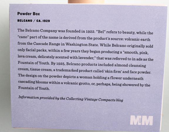 Vintage Belcano powder, ca. 1929