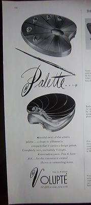 Volupté palette compact ad, 1940
