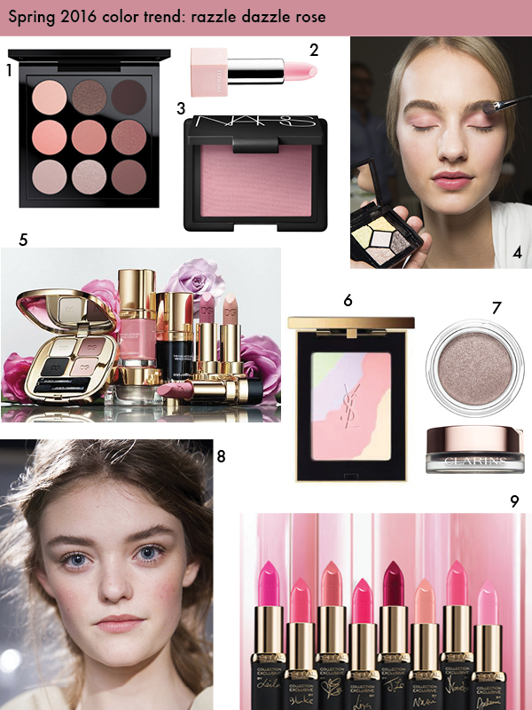 Spring 2016 color trend: rose