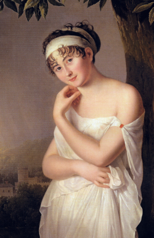 Madame Récamier by Eulalie Morin, ca. 1798