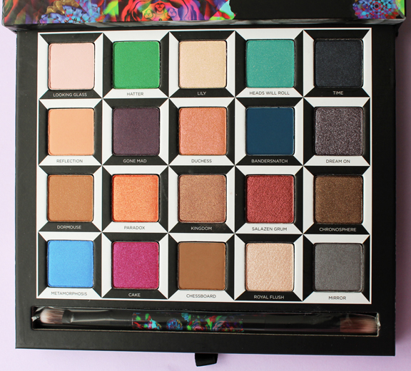 Urban Decay Through the Looking Glass palette