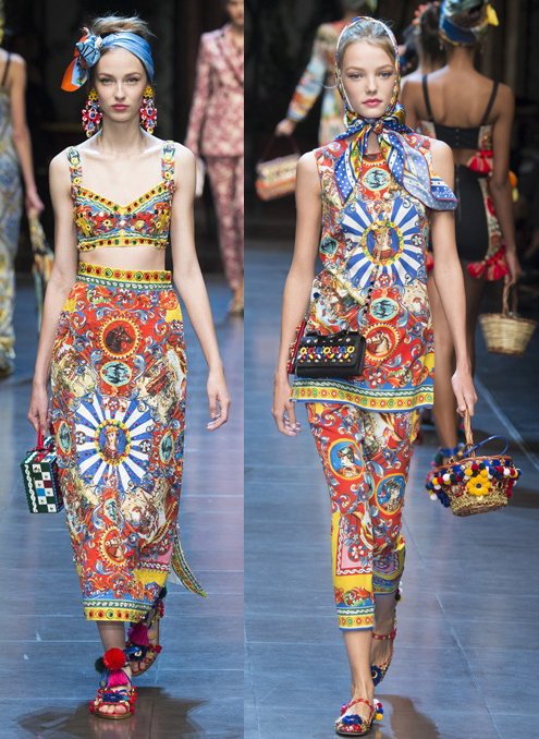 Dolce & Gabbana spring/summer 2016