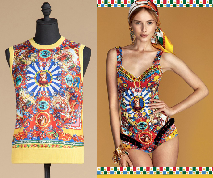 Dolce & Gabbana spring/summer 2016 - carretto