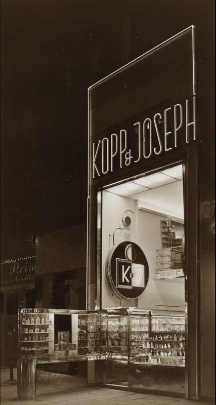 Kopp & Joseph storefront, Berlin, ca. 1927