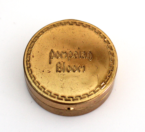 Pompeian Bloom powder box, ca. 1920-1926