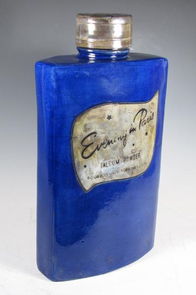 Karen Shapiro - Bourjois Evening in Paris talc bottle