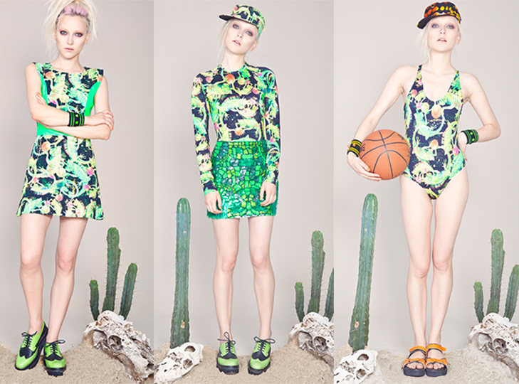 Emma Mulholland - Bad as I Guana Be collection, spring 2012/13