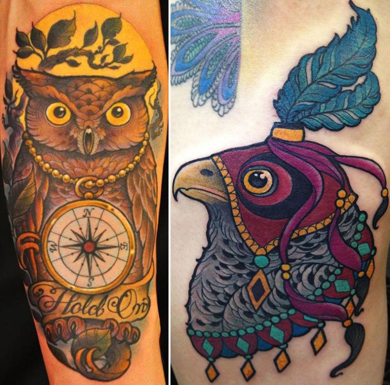 Dean Carlyle tattoos