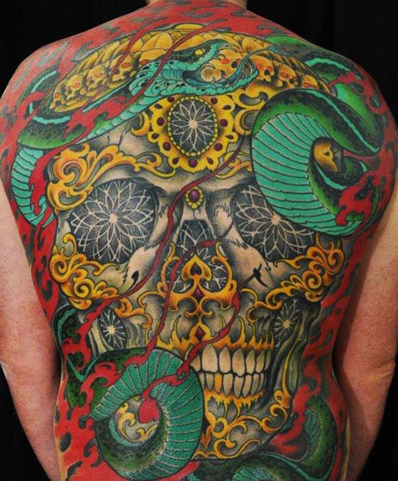 Dean Carlyle tattoo