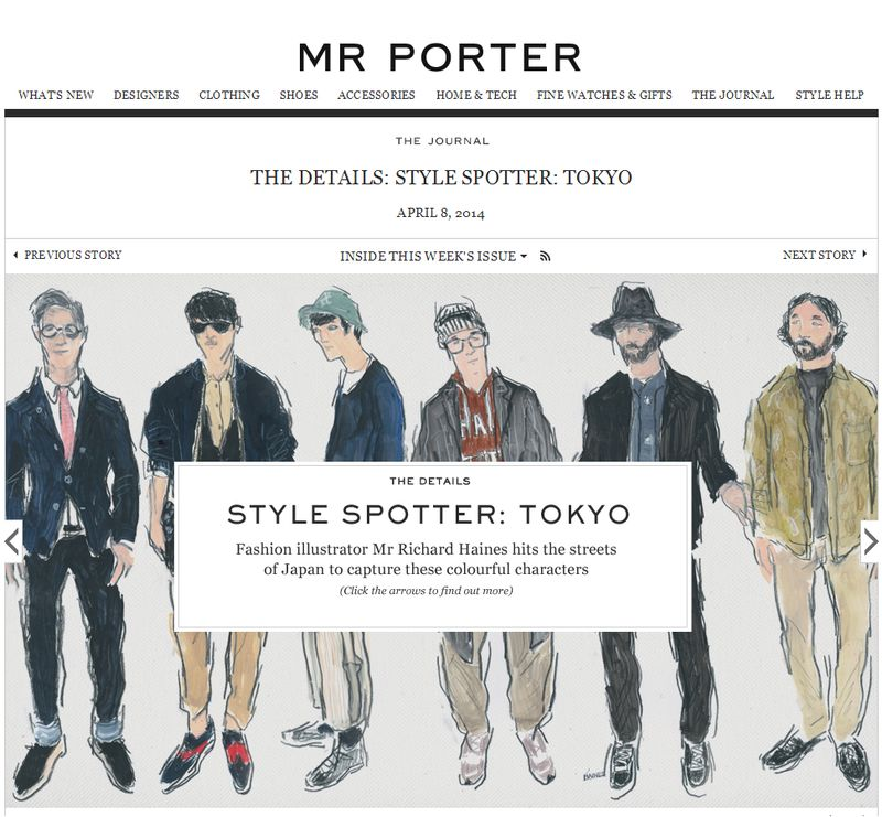 Richard Haines for Mr. Porter
