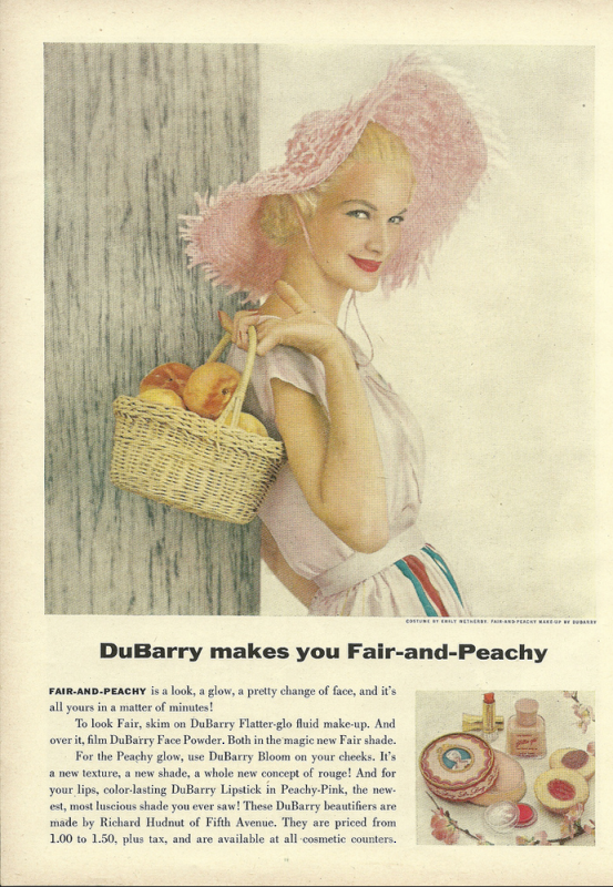 1954 DuBarry ad