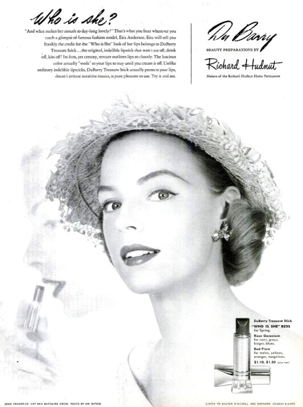 1951 DuBarry ad