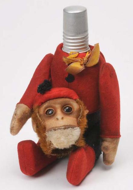 Vintage Schuco monkey - perfume