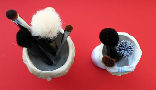 Bésame and LM Ladurée brush holders