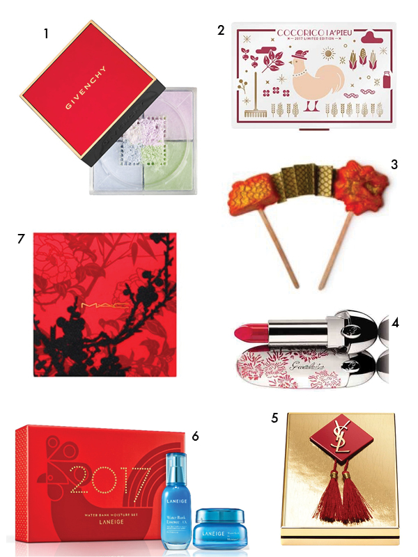 Chinese New Year 2017 beauty products
