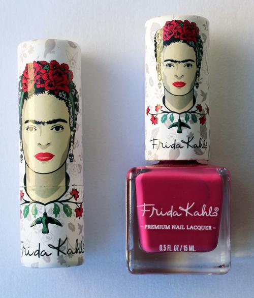 Republic Nail Frida Kahlo lipstick and nail polish