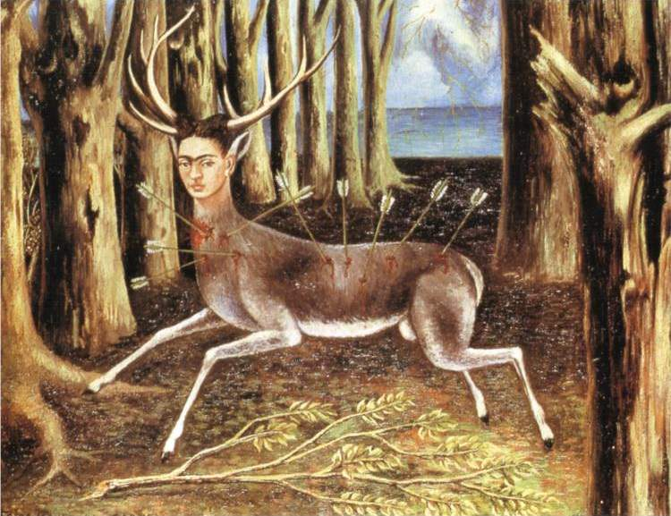 Frida Kahlo, The Wounded Deer, 1946