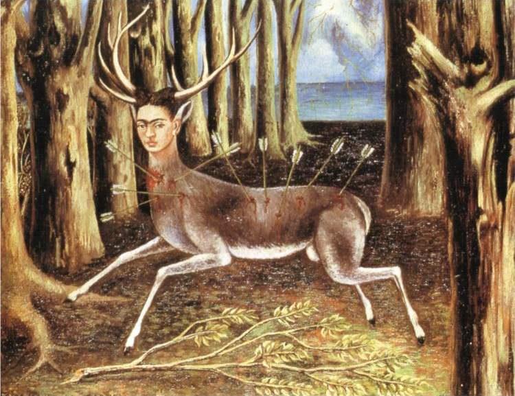 Frida Kahlo, The Wounded Deer, 1946