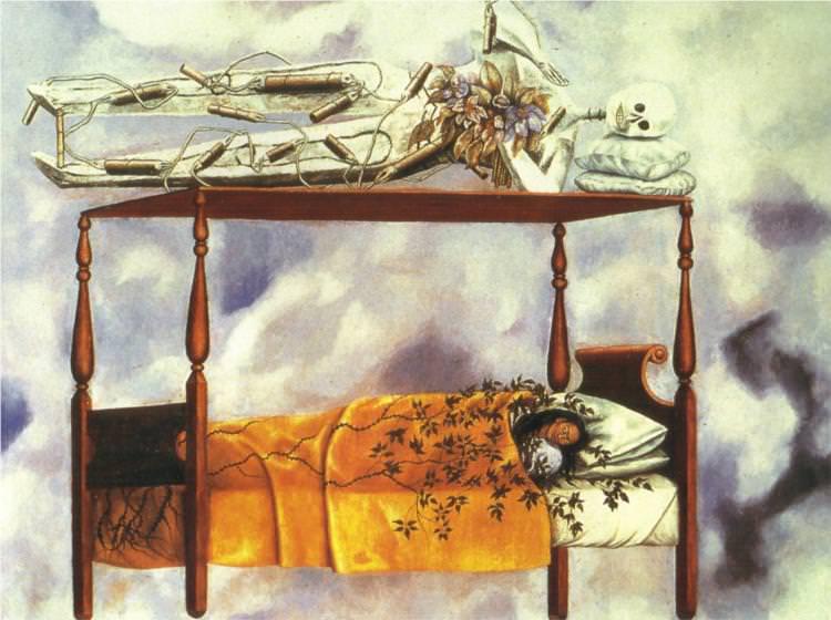 Frida Kahlo, The Dream, 1940
