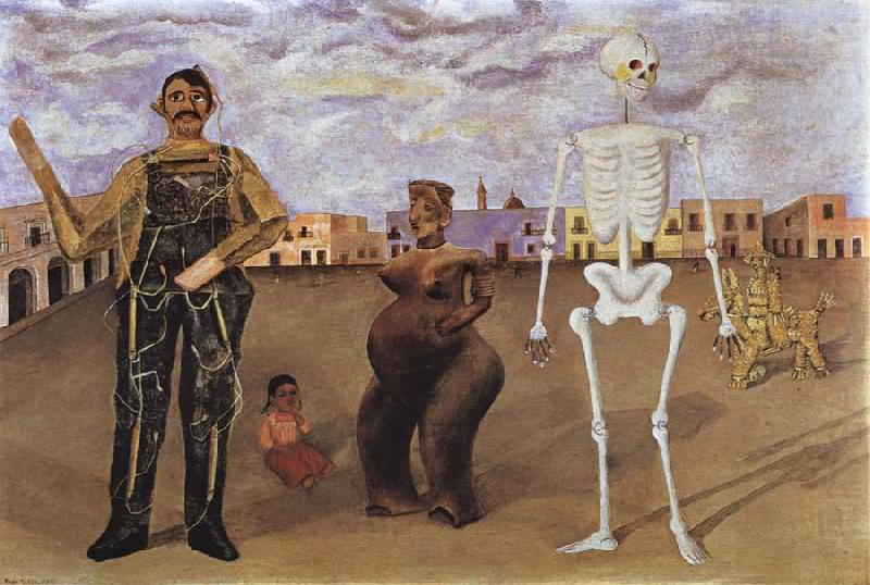 Frida Kahlo, Four Inhabitants of Mexico, 1938