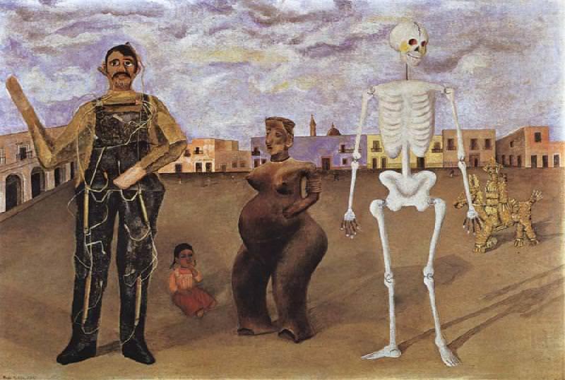 Frida Kahlo, Four Inhabitants of Mexico, 1938