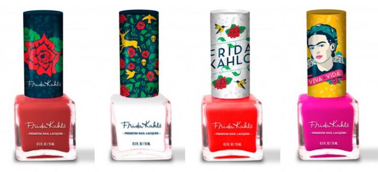 Republic Nail Frida Kahlo polishes