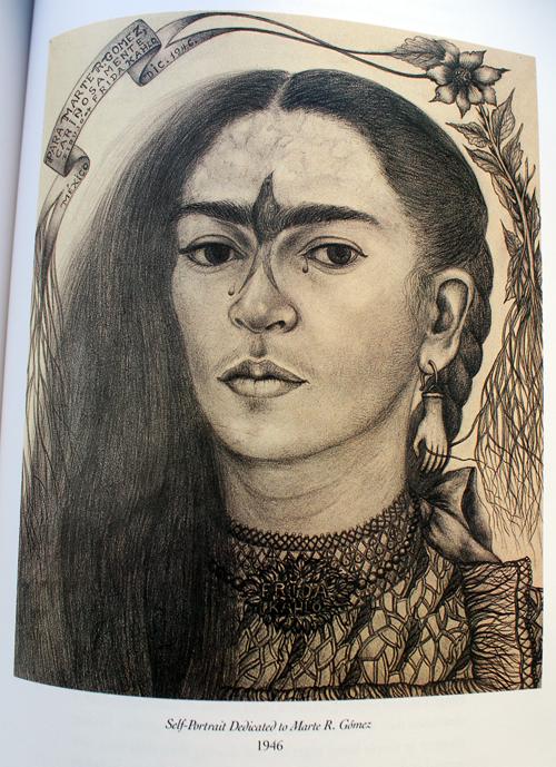 Frida Kahlo, Self-Portrait Dedicated to Dr. Marte R. Gomez, 1946