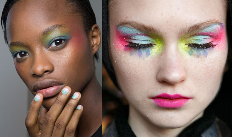 Makeup at Alexis Mabille and Manish Arora, spring 2016