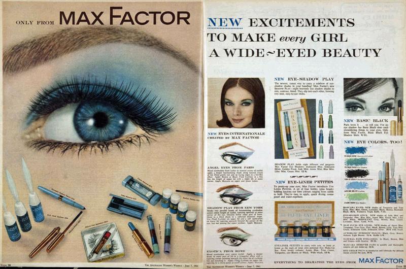 1961 Max Factor ad