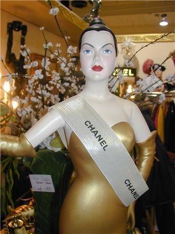Chanel mannequin