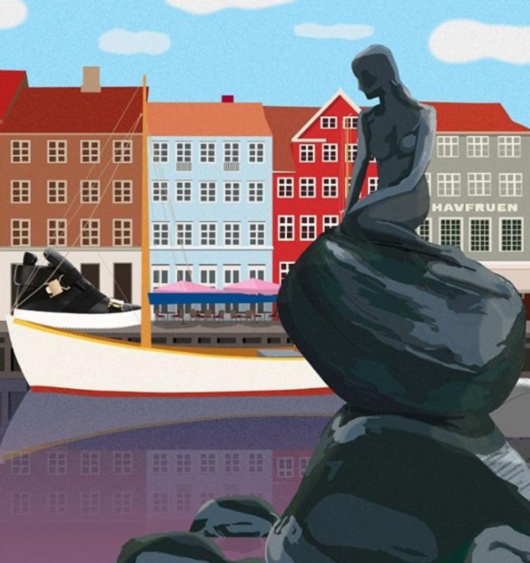 Przemek Sobocki - illustration for Farfetch