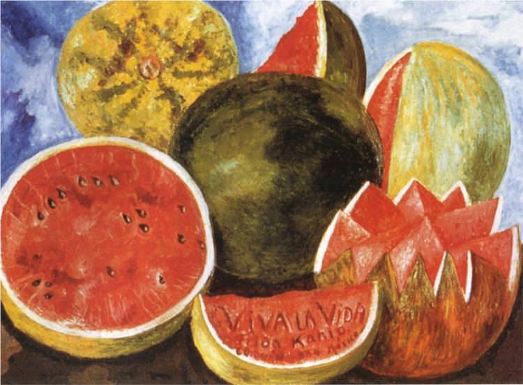 Frida Kahlo, Viva La Vida, 1954