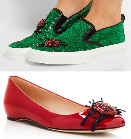 Gucci ladybug shoes