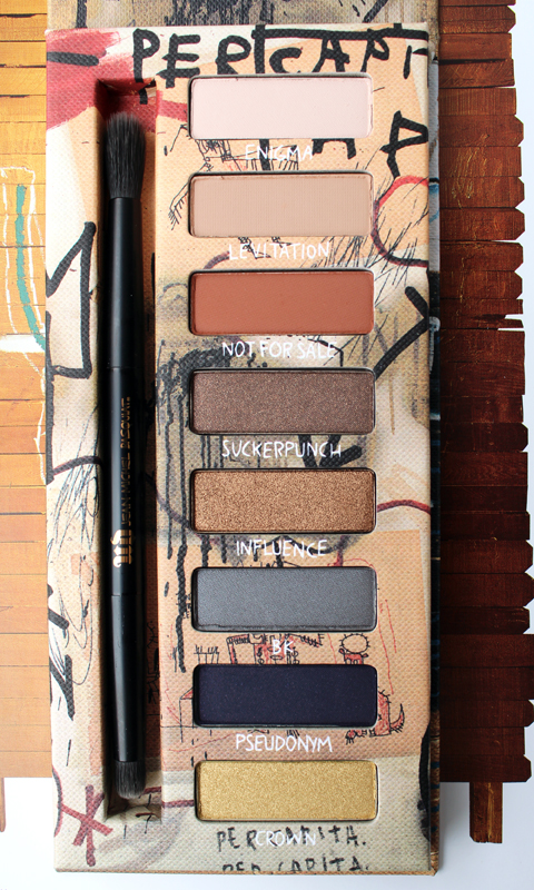 Urban Decay x Basquiat Gold Griot palette