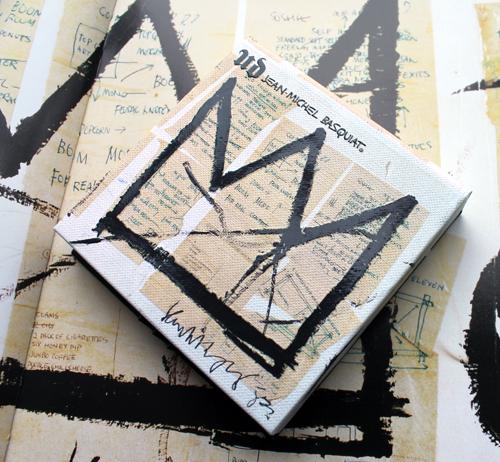 Urban Decay x Basquiat Gallery blush palette