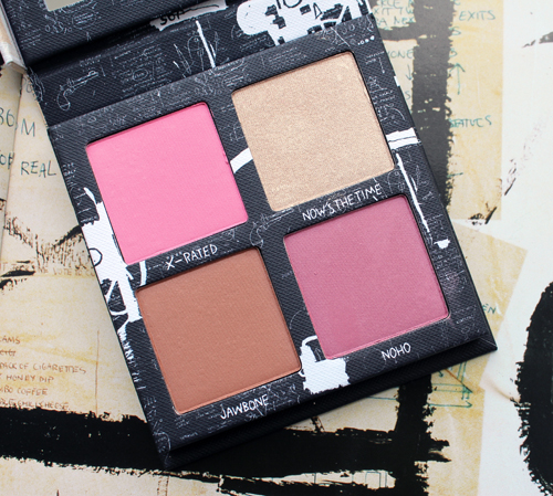 Urban Decay x Basquiat Gallery blush palette