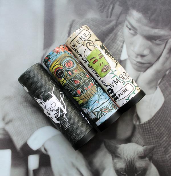 Urban Decay x Basquiat lipsticks