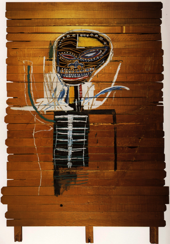 Jean-Michel Basquiat, Gold Griot, 1984
