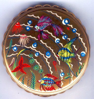 vintage under the sea compact