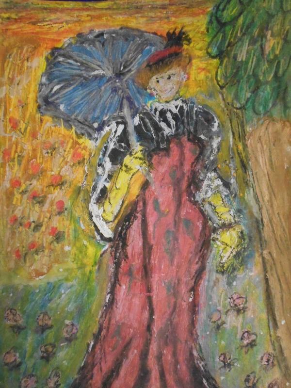 Gloria Garrett, Parasol, 2007