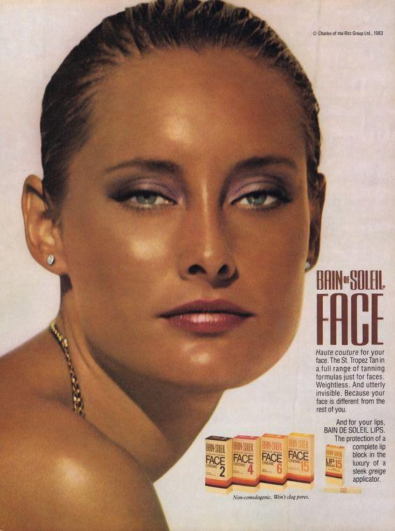 Bain de Soleil ad, 1983