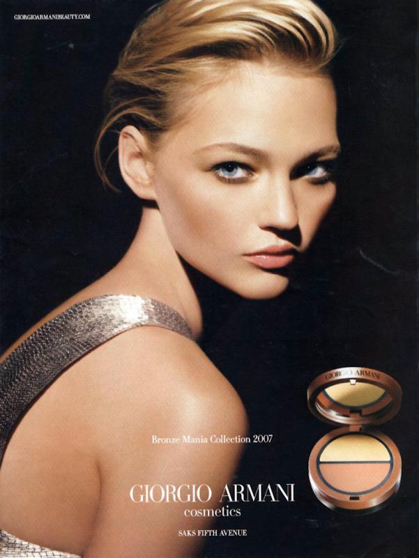 Armani Bronze Mania ad, 2007
